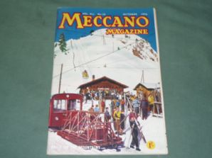 MECCANO MAGAZINE 1956 October Vol XLI No.10